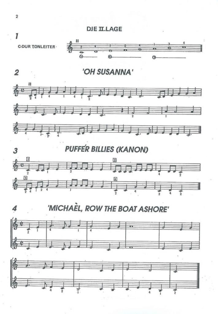Gitarre Spiel Und Studienmaterial Vol.2