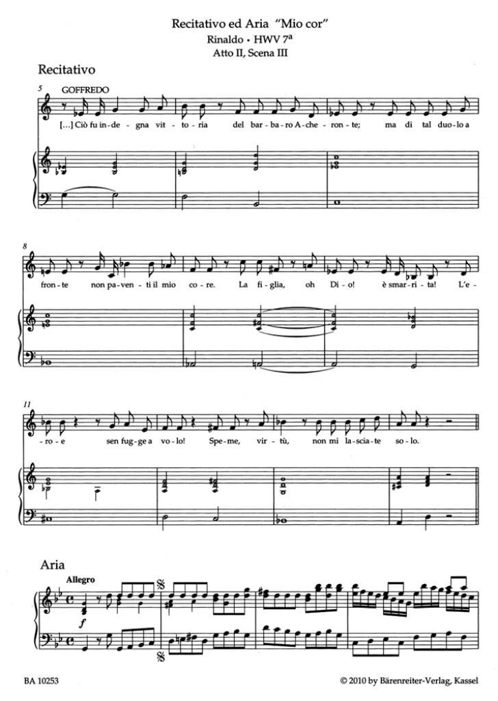 Aria Album Mezzo & Contralto & Piano