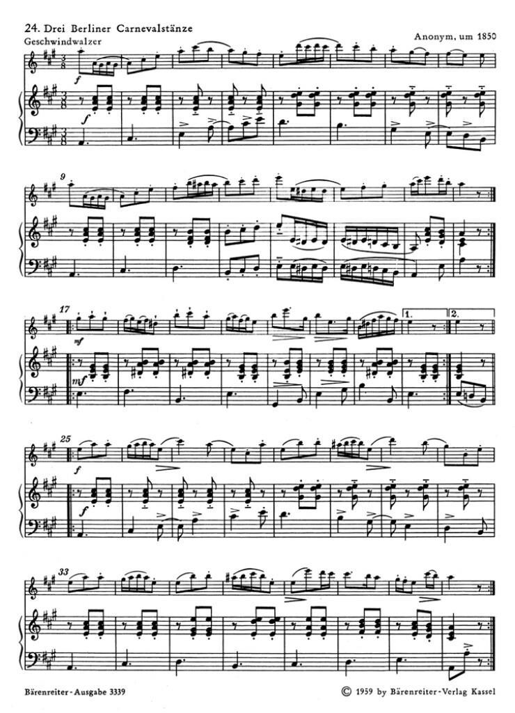 Spielbuch fur ein Melodieinstrument & Klavier Bd 2
