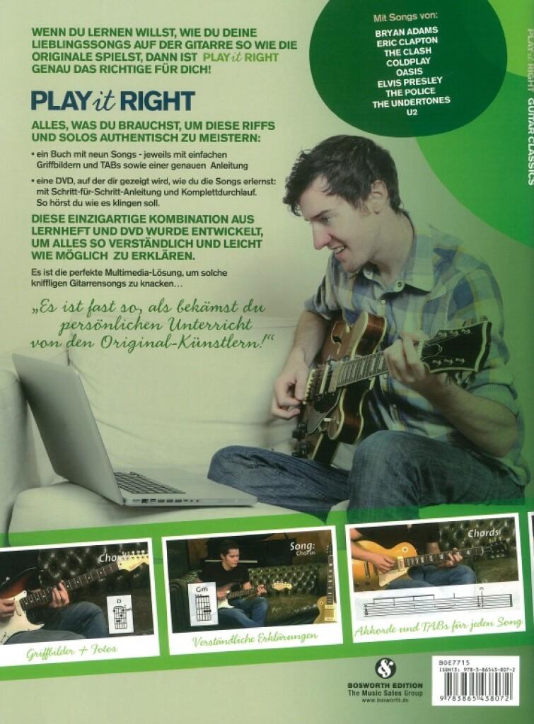 Play It Right : Guitar Classics
