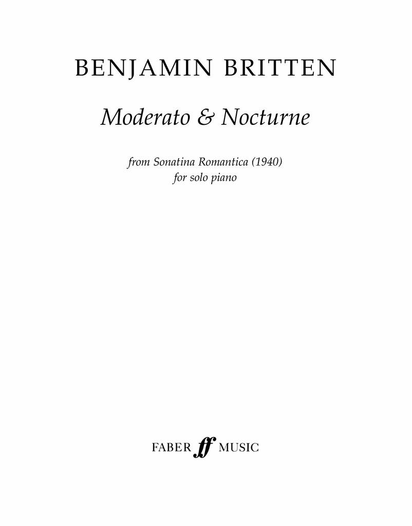 Moderato and Nocturne