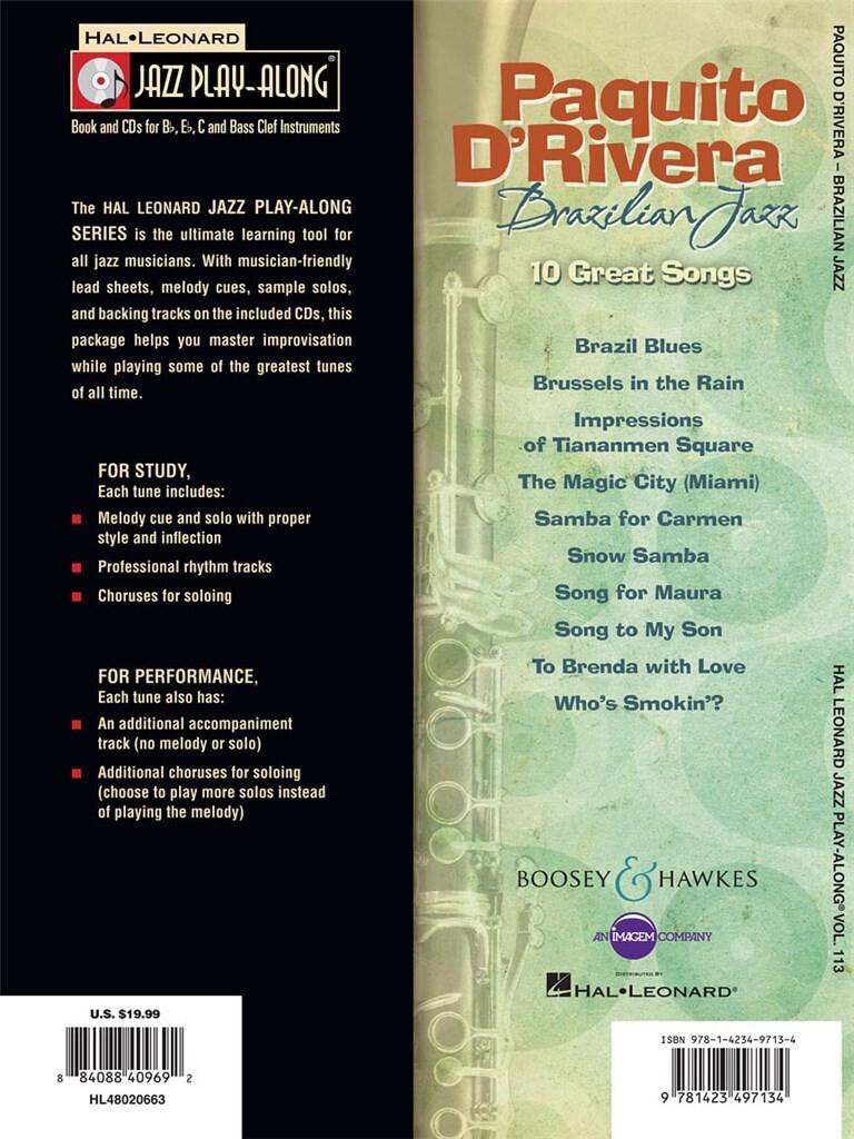 Paquito D'Rivera - Brazilian Jazz