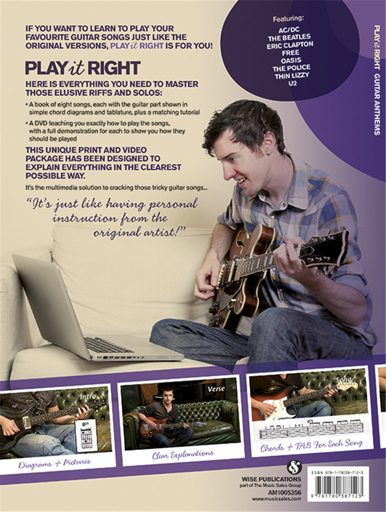 Play It Right - Guitar Anthems