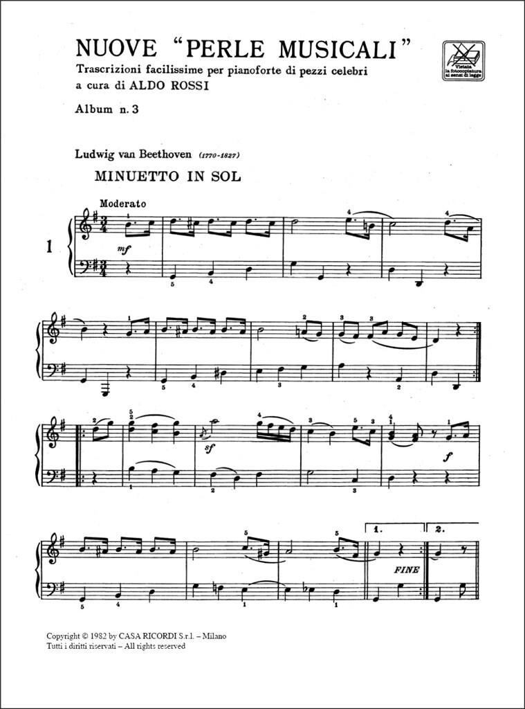 Nuove Perle Musicali. Album N. 3