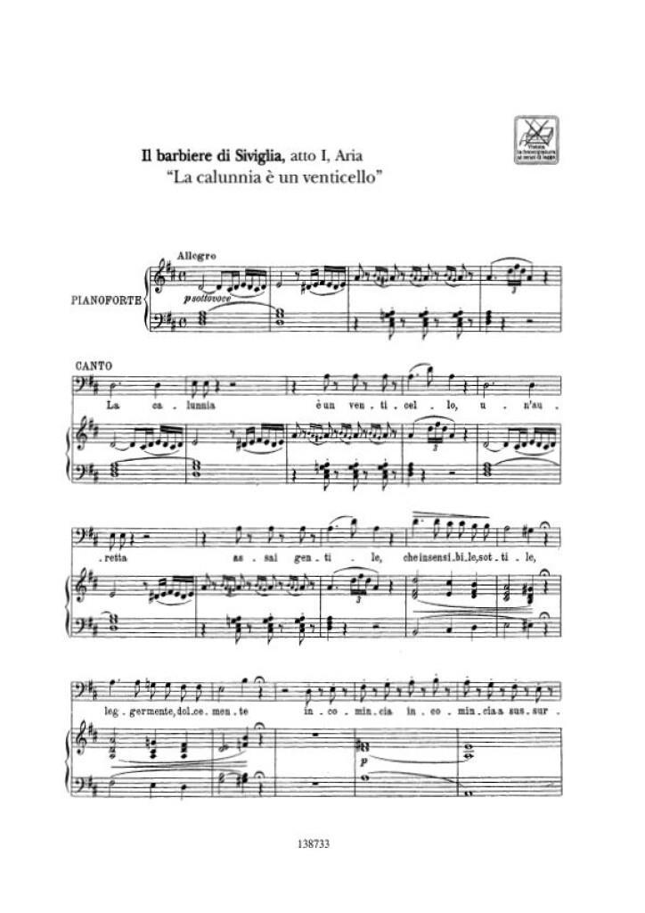 Cantolopera: Arie Per Basso Vol. 1