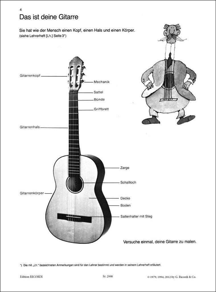 Meine Gitarrenfibel: Band 1 (+CD)