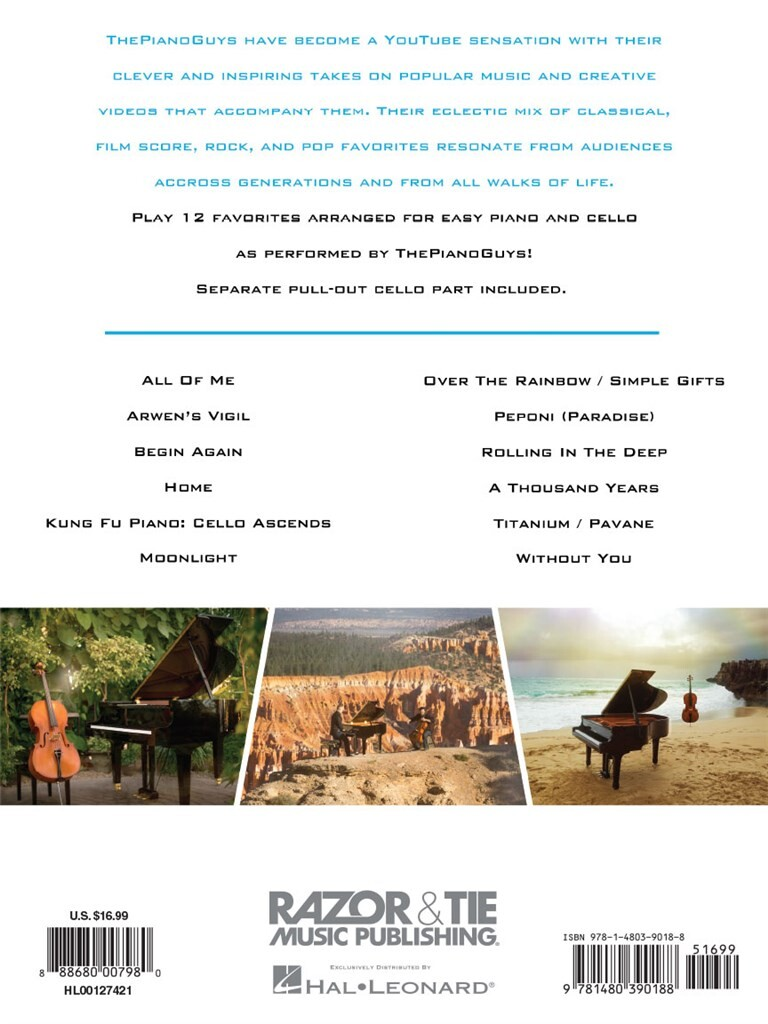 The Piano Guys Simplified Favorites Vol 1 Music Shop Europe