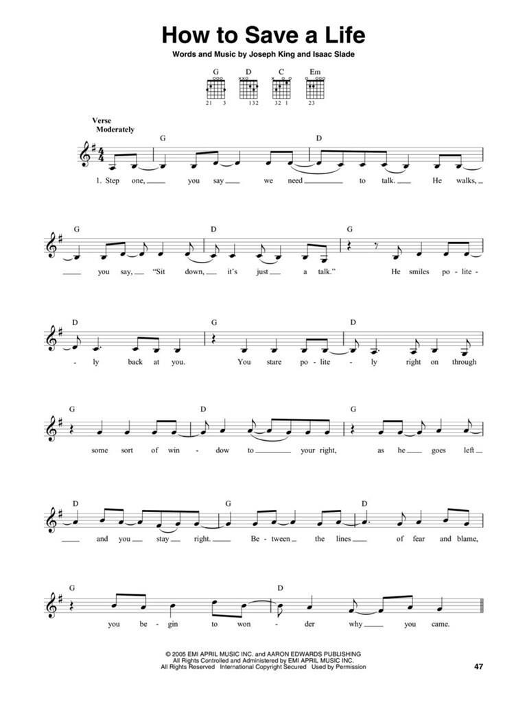 The Guitar 4-Chord Songbook Volume 2 Sheet Music G-C-D-Em Guitar NEW 000277585