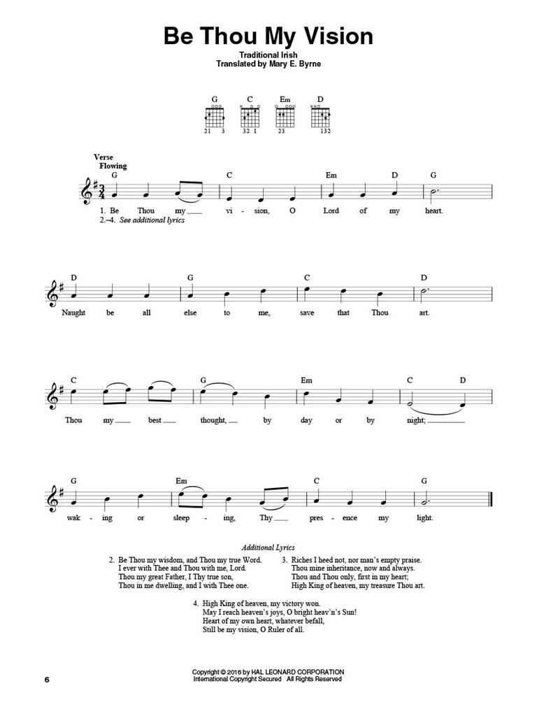 4 Chord Hymns For Guitar Music Shop Europe