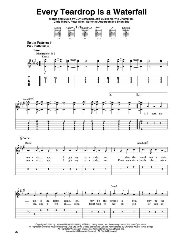 Fix You Coldplay Chords Piano Choice Image Piano Chord Chart With