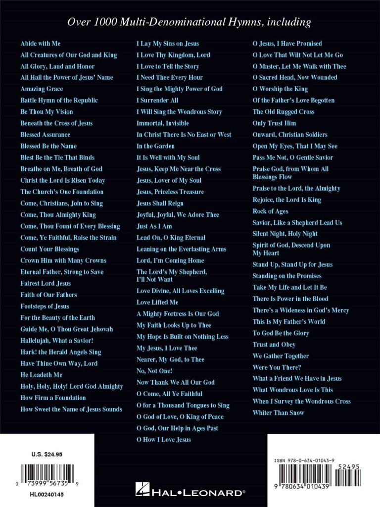 The Hymn Fake Book Music Shop Europe