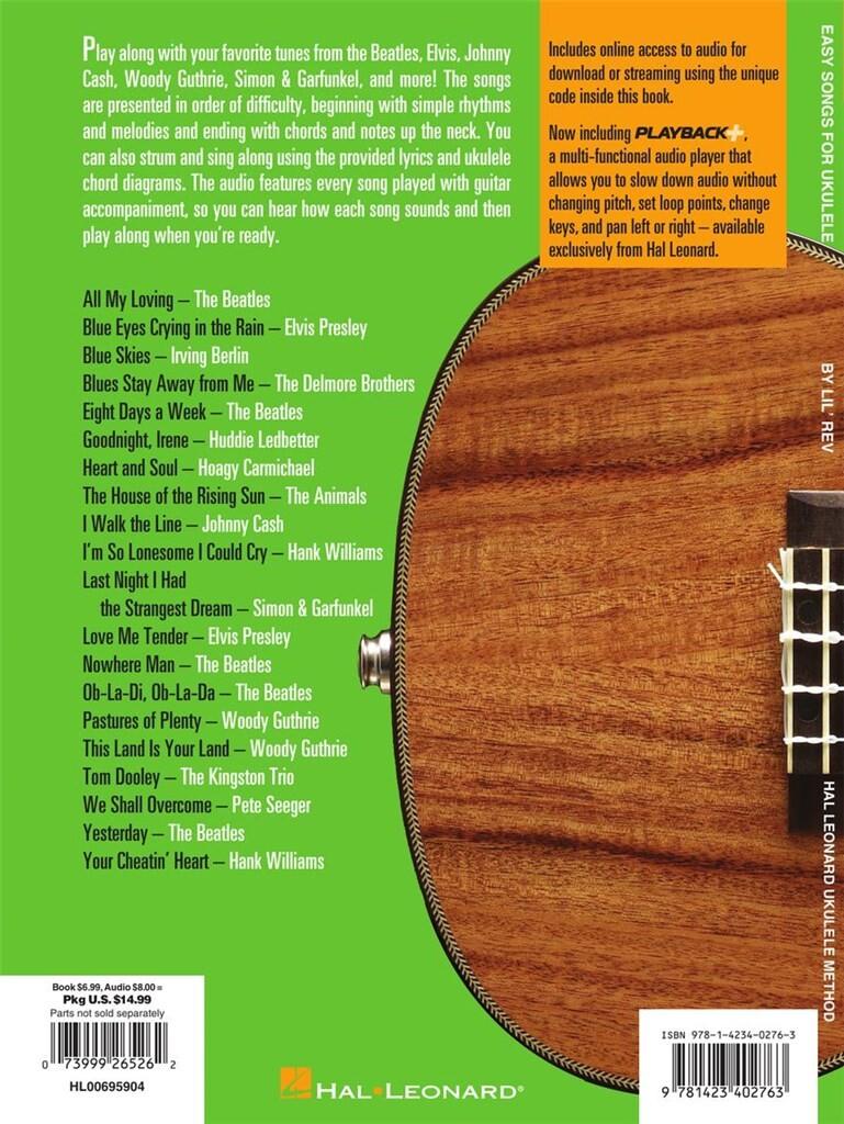 Easy Songs For Ukulele Music Shop Europe