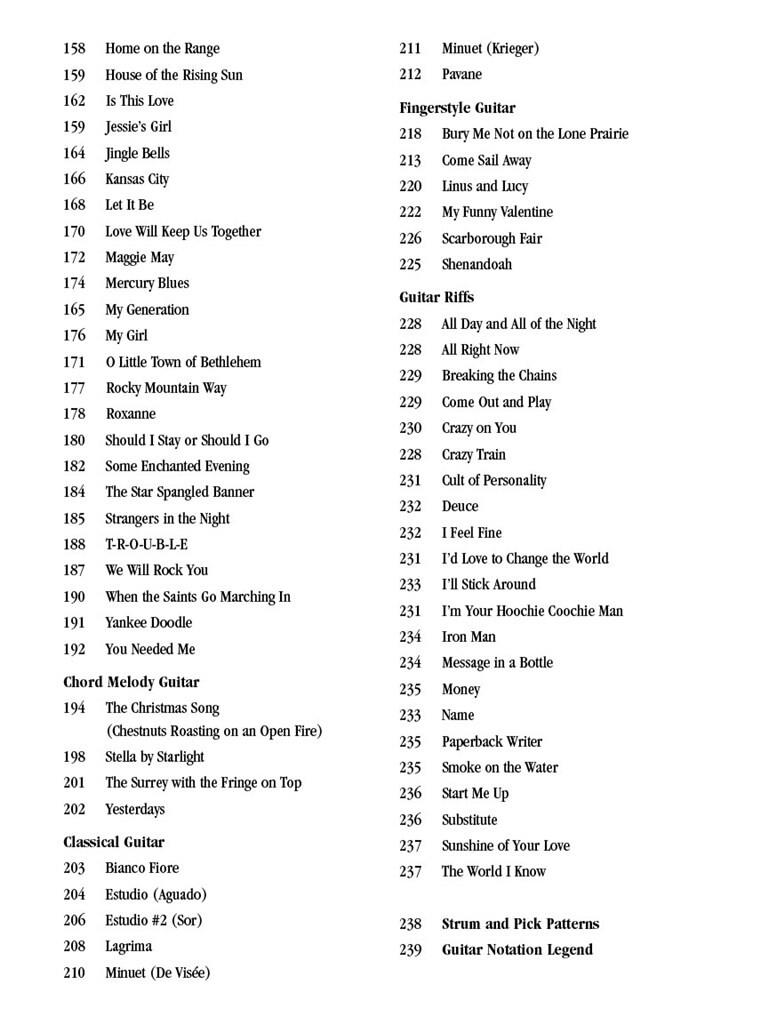 The Ultimate Guitar Songbook - Second Edition | Music Shop Europe