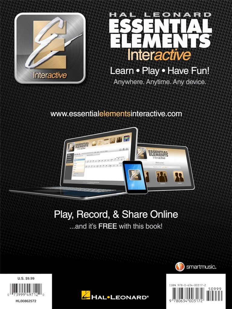 Essential Elements For Band Book 1 Alto Sax Music Shop