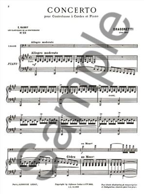 Variations On /'God Save The King/'  Double Bass and Piano Domenico Dragonetti Boo