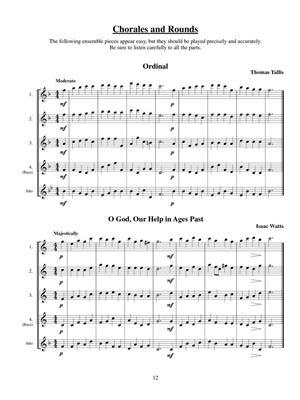 The Flute Choir Warm Up Book | Music Shop Europe