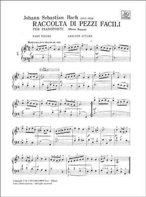 Il mio primo Bach Pozzoli Fascicolo 1 Ed Ricordi