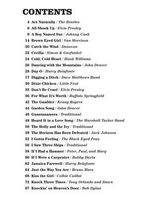 4 Chord Ukulele Songbook Music Shop Europe