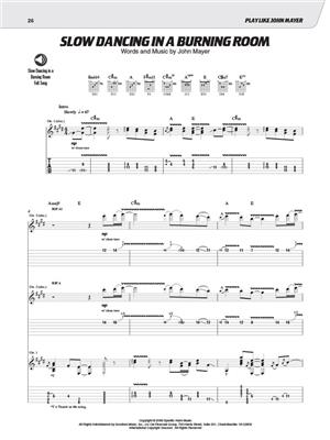 Play Like John Mayer The Ultimate Guitar Lesson Music Shop Europe