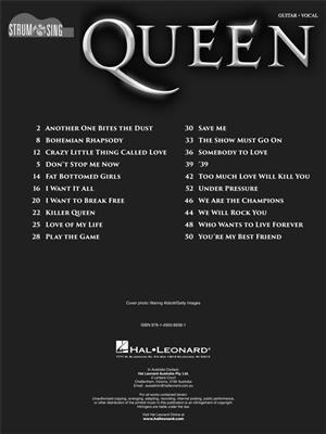 Queen - Strum & Sing Guitar   Music Shop Europe