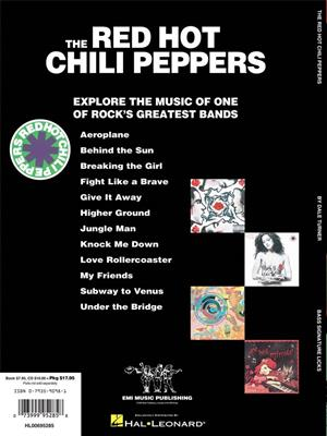 By The Way Red Hot Chili Peppers Bass Guitar  Book Only HL00690585 Bass