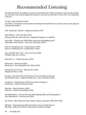 101 Ukulele Licks | Music Shop Europe