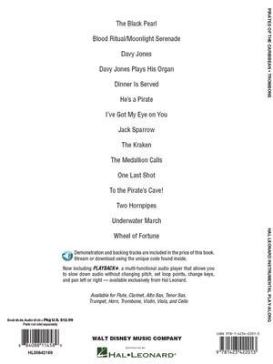Pirates of the Caribbean - Trombone | Music Shop Europe