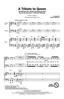 Sheet Music for Choral Pop & Rock | Music Shop Europe
