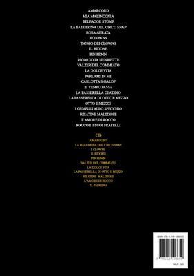 The Best of Nino Rota  Piano Nino Rota Book with CD MLR 00066500