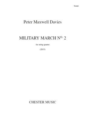 Peter Maxwell Davies: Military March No.2