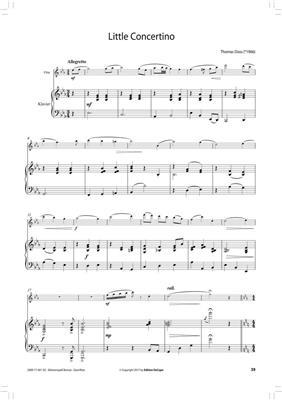 Da Capo Bühnenspaß Bronze - Klavierbegl Flöte