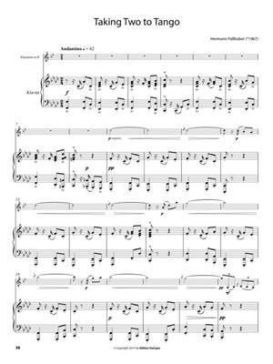 Da Capo Bühnenspaß Bronze - Klavierbegl Klarinette