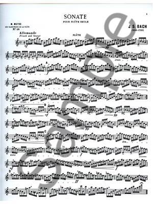 Sonata BWV1013 In A minor