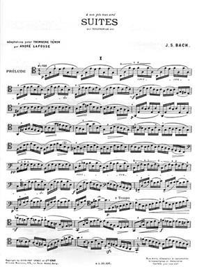 Suites For Cello