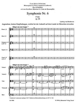 Symphony No. 6 F major op. 68 'Pastorale'