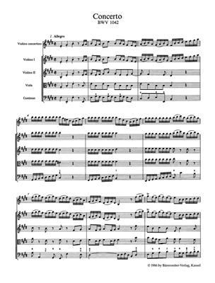 Violin Concertos In A Minor