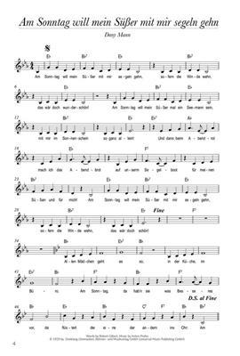 Schlager und Hits der 20er-50er für Ukulele