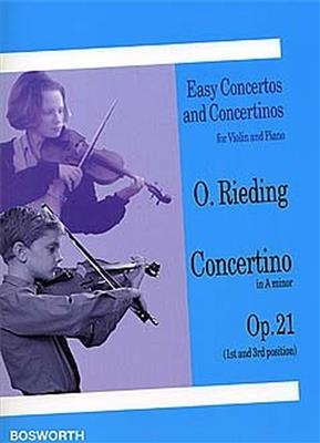 Concertino in A minor op. 21