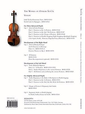 Violin Studies Opus 8