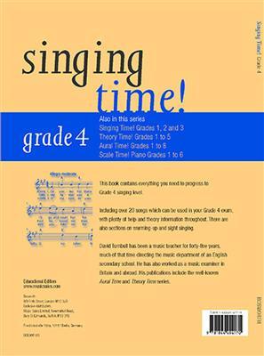 Singing Time! Grade 4