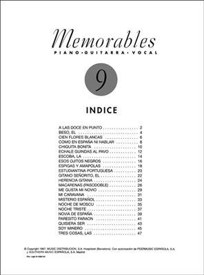 Memorables 9