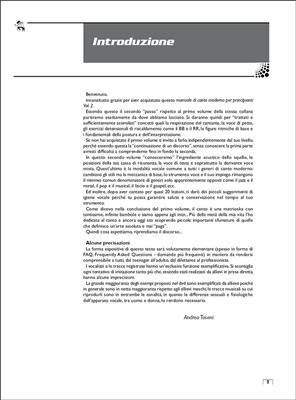 Manuale di Canto, Volume 2