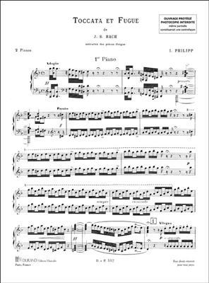Toccata Et Fugue Rem Pour 2 Pianos