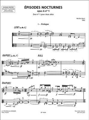 Épisodes Nocturnes opus 6 n° 1