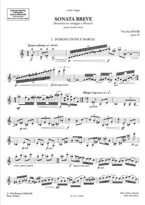 Sonata Breve Op.45