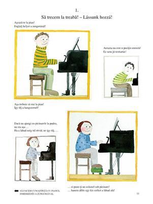 Scoala Pianistica Prietenoasa. Volumes 1-4
