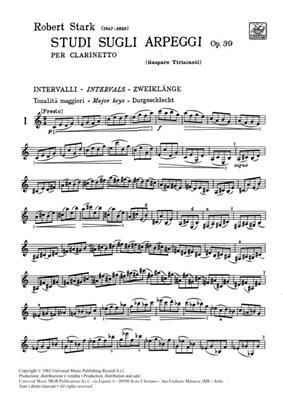 Studi Sugli Arpeggi Op. 39