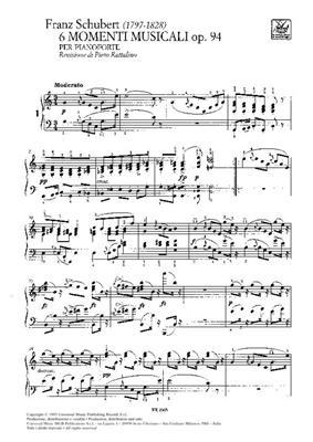 6 Momenti Musicali Op.94 D.780