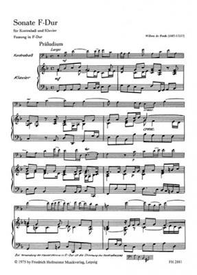 Sonate F-Dur