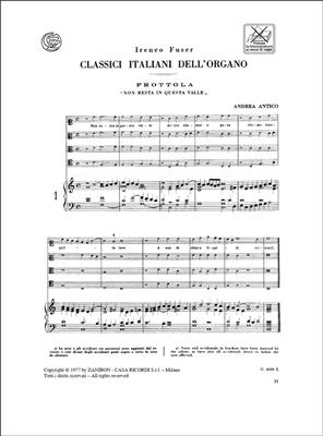 Classici Italiani Dell'Organo